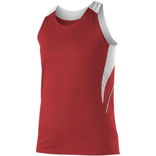 Alleson Ahtletic Women Girls Girls Loose Fit Track Tank