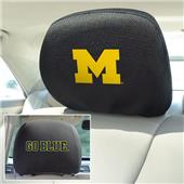 Fan Mats University of Michigan Head Rest Covers
