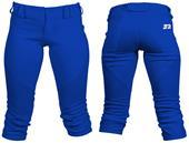 3n2 NuFIT 3/4 Knickers Softball Pant w/Belt Loops