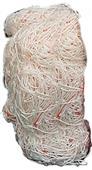 Soccer Nets White Braid 8' x 24' x 6' x 6' PAIR