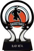 "Hasty Awards 6"" Glow in the Dark Basketball Trophy"