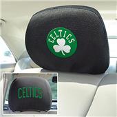 Fan Mats NBA Boston Celtics Head Rest Covers