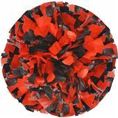 "Adult Cheerleaders 2 Color Plastic Mix 1"" Poms"