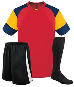 51d7df579 High Five Mundo Custom Soccer Jersey Uniform Kits - Soccer Equipment and  Gear