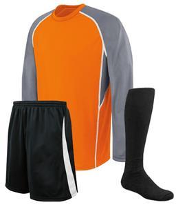 d9e0e8a36d7 High Five EVOLUTION LS Custom Soccer Jersey Uniform Kits - Soccer Equipment  and Gear