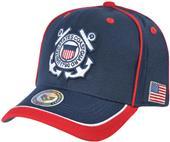 Rapid Dominance Piped Coast Guard Military Cap