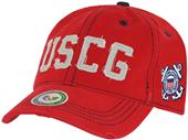 Vintage Cotton Twill Coast Guard Military Cap