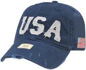 Rapid Dominance USA Southern Cal Patriotism Caps