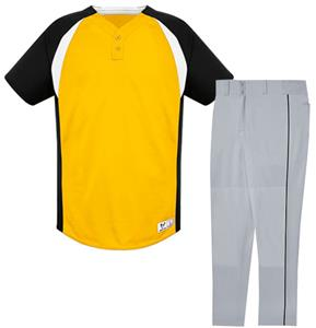 310c6d871bb Gravity Two-Button Custom Baseball Jersey Uniform Kits - Baseball Equipment  & Gear