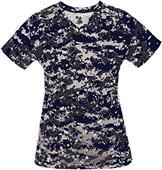 Badger Sport Ladies Digital Camo Tee Shirt