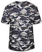 Badger Adult/Youth Short Sleeve Camo Tee Shirt