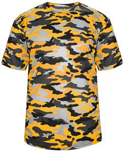 9015d9f97 Badger Adult Youth Short Sleeve Camo Tee Shirt - Soccer Equipment and Gear