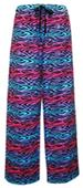 Boxercraft Unisex Flannel Zebra Party Pants